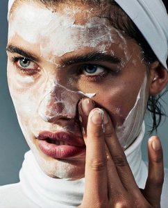 Protein Face Mask with Egg White - oily, dry, wrinkled skin